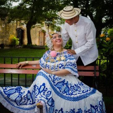 ROSALIN Y OMAR | CASCO ANTIGUO | SESION VIP | POLLERA DE LUJO